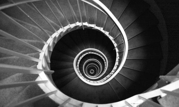 stairway, DNA, helix