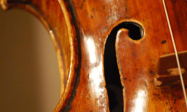 A Guarneri violin