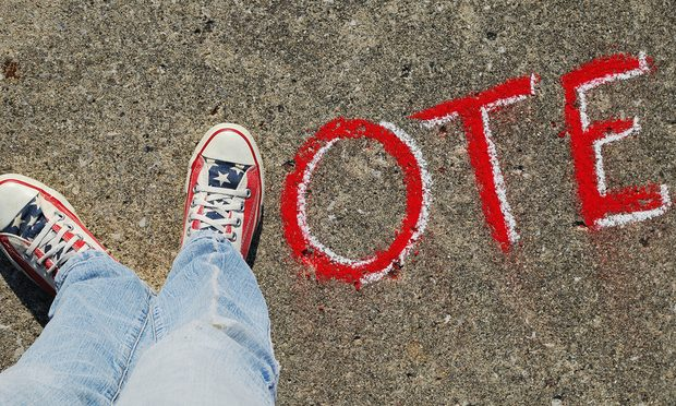vote, with ones feet