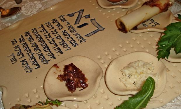 a Passover sedar