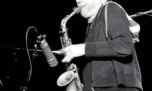 John Zorn, saxophone