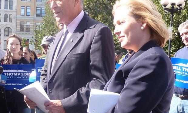 Senators Charles Schumer and Kirsten Gillibrand