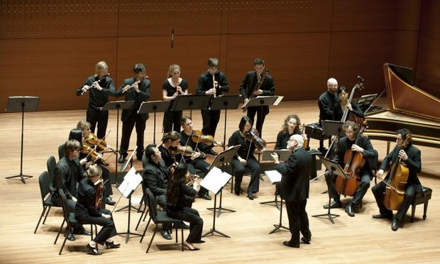 Juilliard415 performs with conductor Ton Koopman in Alice Tully Hall