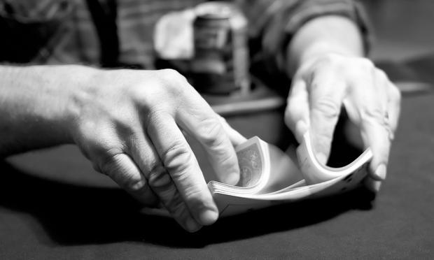 cards, shuffle, magic, hands