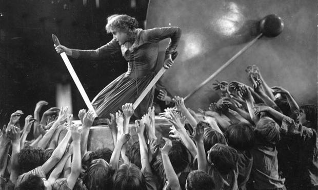 Brigitte Helm as Maria in Fritz Lang's <em>Metropolis</em>
