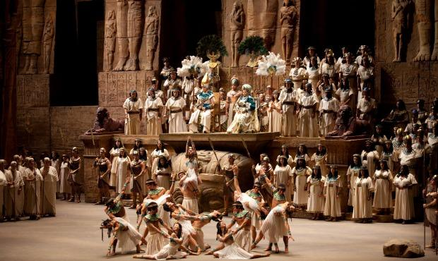 Aida at the Met Opera
