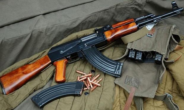 Gun, Machine Gun, AK-47