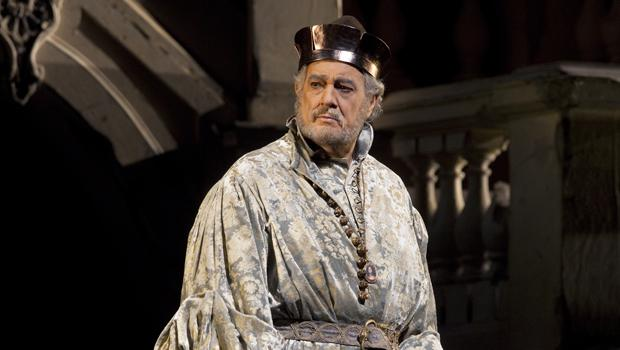 "Plácido Domingo Sings Baritone in ""Simon Boccanegra"" at the Met"