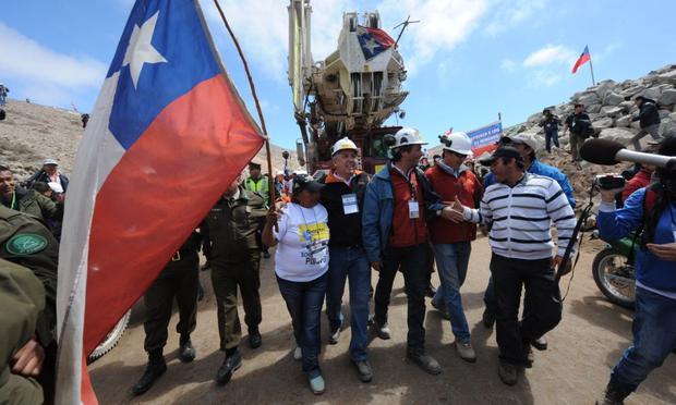 Chile, Mine, Collapse, Rescue