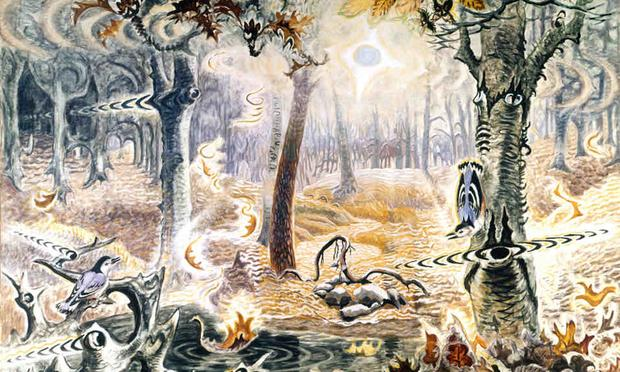 Charles Burchfield's <em>Autumnal Fantasy</em>