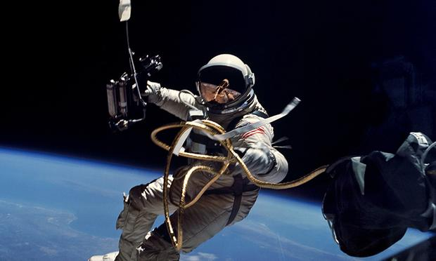 Ed White performs first US spacewalk