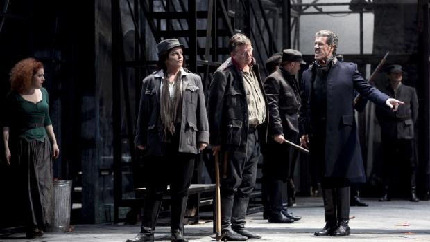 A production of Beethoven's 'Fidelio' from the Royal Theater in Turin, Italy.