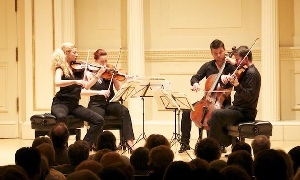 Pavel Haas Quartet at Weill Recital Hall