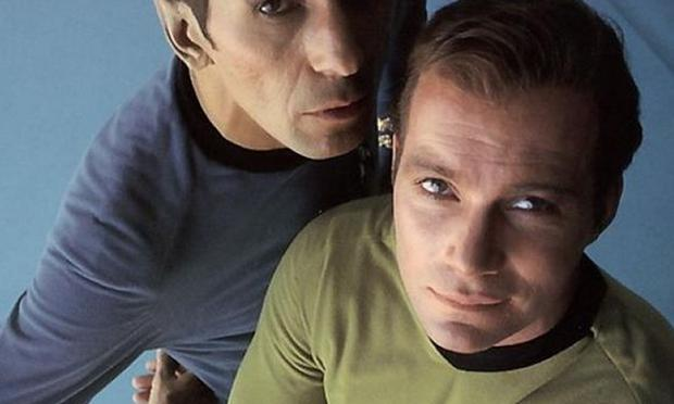 Captain Kirk and Mr. Spock