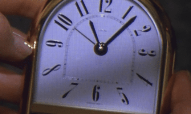 Still from The Clock, by Christian Marclay