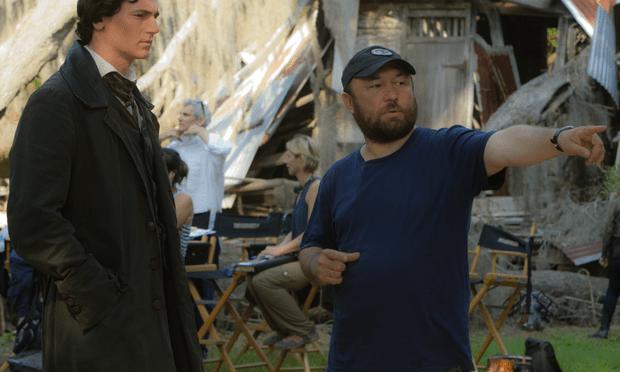 Actor Benjamin Walker and director Timur Bekmambetov on the set of Abraham Lincoln: Vampire Hunter