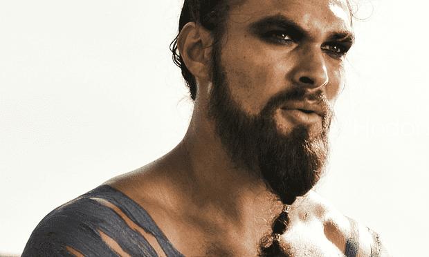 Jason Momoa as the Dothraki warlord Drogo in the HBO series 'Game of Thrones'