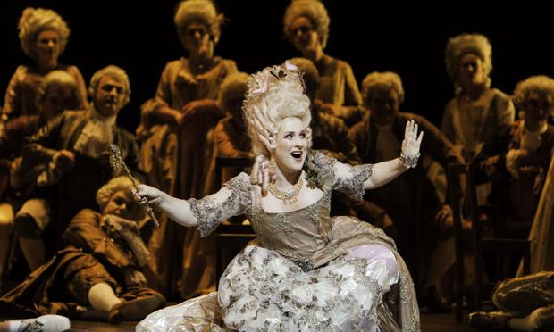 Soprano Diana Damrau in 'Mignon' from the Grand Theatre of Geneva.
