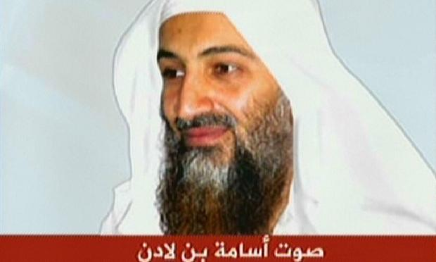 Osama bin Laden's still image on Al-Jazeera, November 2007