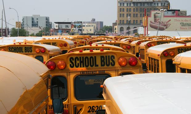 school, bus, buses, transport, coney island