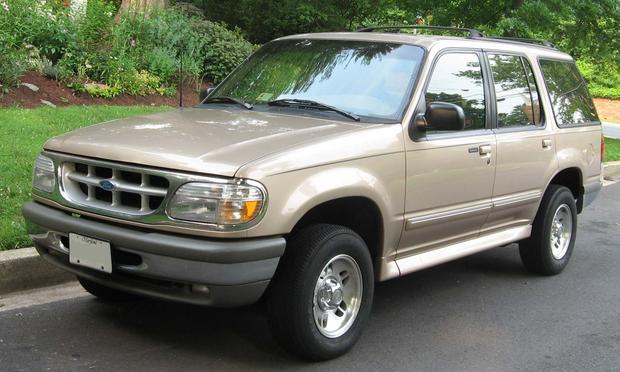 A Ford Explorer SUV