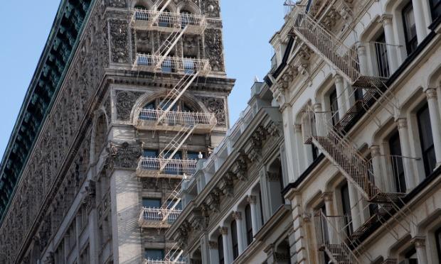 Buildings in Soho.