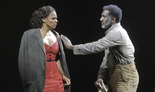 Audra McDonald and Norm Lewis in The Gershwins' Porgy and Bess