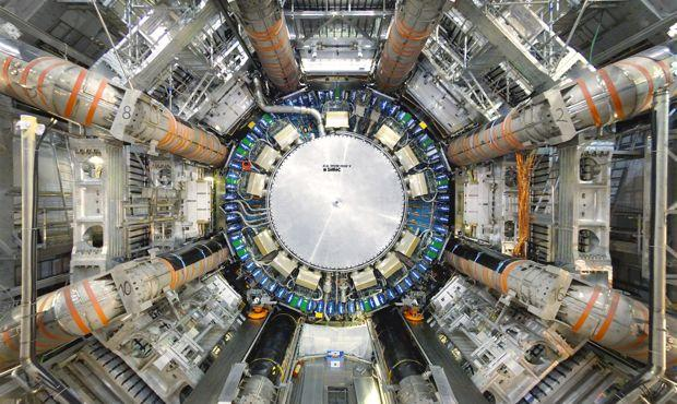 Inside the ATLAS detector at the Large Hadron Collider