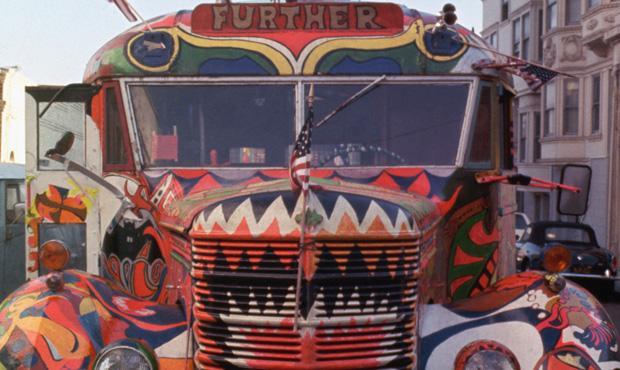 The Merry Pranksters' Magic Bus