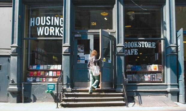 The Housing Works Bookstore in SoHo, New York
