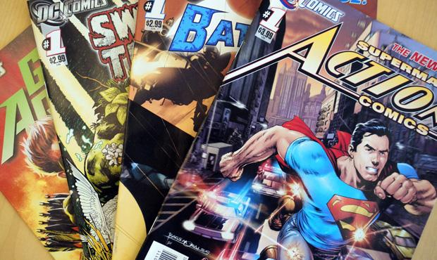 DC Comics reboots its heroes in the 'New 52'