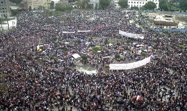 Tahrir Square, Hosni Mubarak, Cairo, Egypt