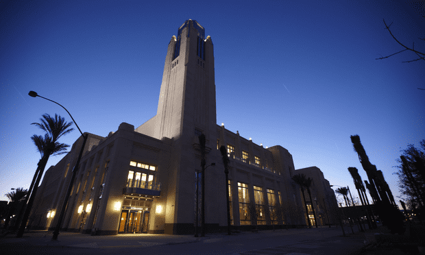 The Smith Center for the Performing Arts opened on Saturday, March 10.