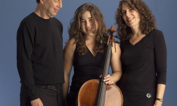 The Weilerstein Trio: Donald Weilerstein, violin; Alisa Weilerstein, cello; Vivian Hornik Weilerstein, piano