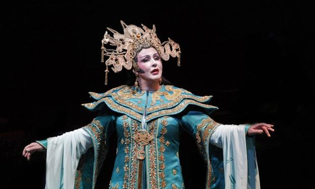 Iréne Theorin as Turandot at San Francisco Opera