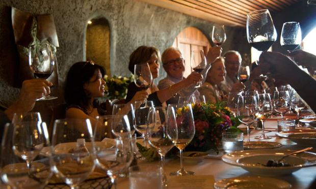 Wining and dining at Festival del Sole