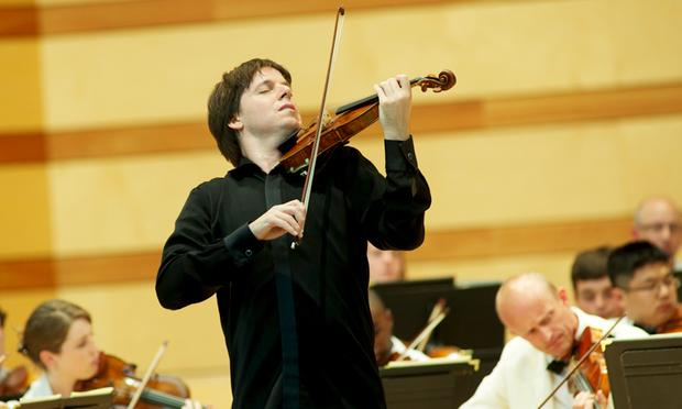 Joshua Bell performs at the Aspen Music Festival