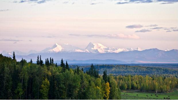 Near Fairbanks, Alaska