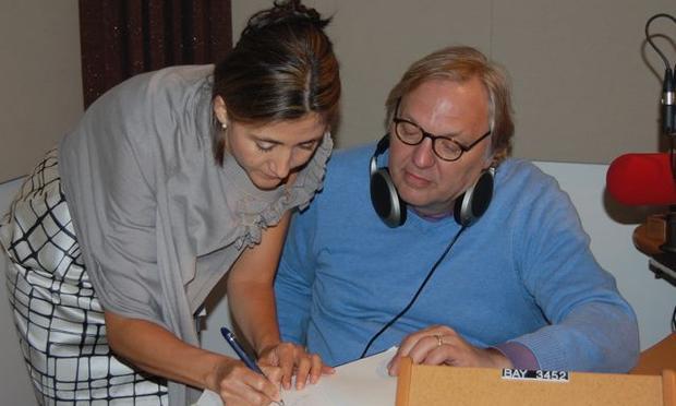 Ingrid Betancourt with John Hockenberry