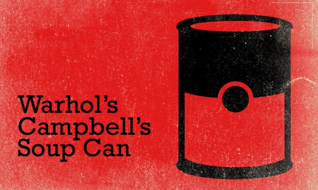 Campbell's Soup, Warhol Feature Card_Big