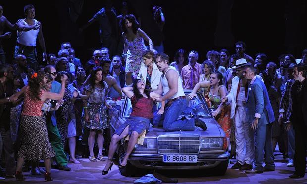 Bizet's 'Carmen' from La Fenice.