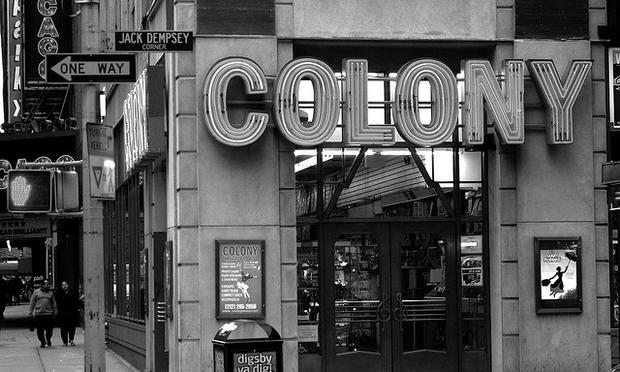Colony Records, at 49th & Broadway