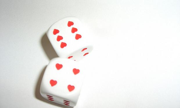 Dice by rocketship