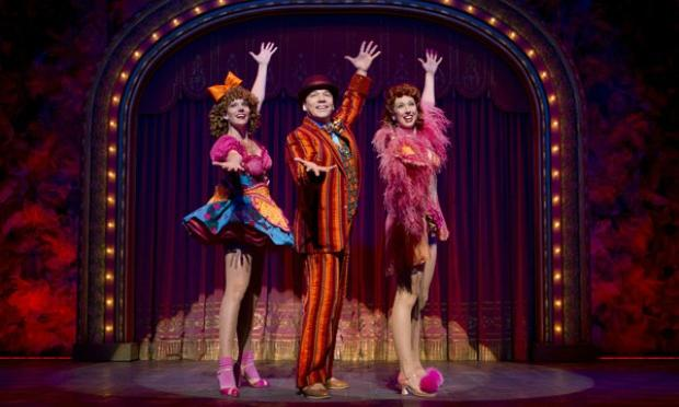 Jennifer Foote, Danny Burstein and Kiira Schmidt in 'Follies.'