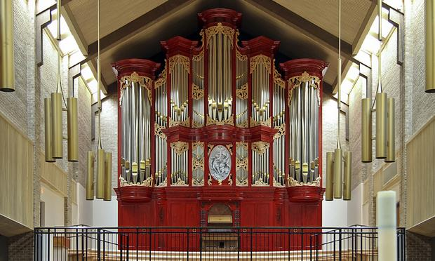2010 Richards, Fowkes organ, Opus 17, at Episcopal Church of the Transfiguration, Dallas, Texas