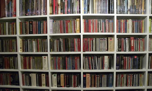 Fred Plotkin's music collection