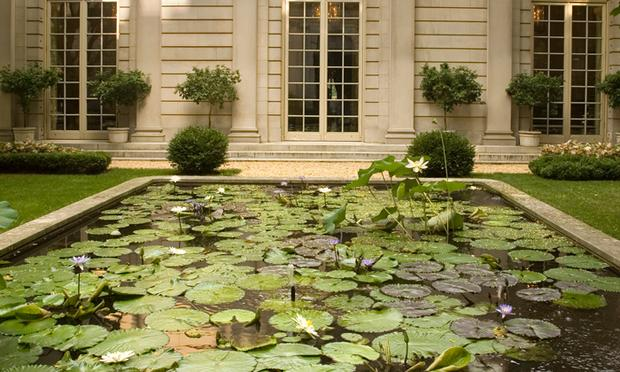 The Frick Collection Exterior: Seventieth Street Garden; The Frick Collection, New York