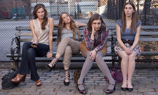 The 'Girls': Allison Williams, Jemima Kirke, Lena Dunham, Zosia Mamet.