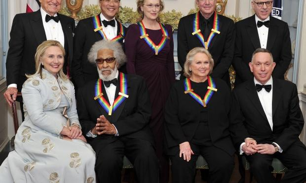 2011 Kennedy Center honorees were actress Meryl Streep, singer Neil Diamond, actress Barbara Cook, musician Yo-Yo Ma, and musician Sonny Rollins.