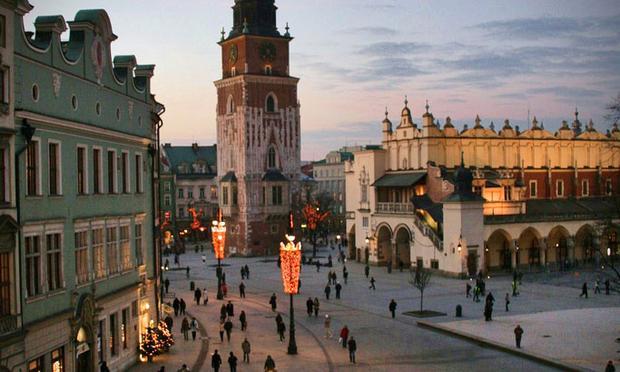 Market Square, Krakow, Poland
